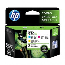 HP 920XL CMY Ink Cartridge Combo Pack [E5Y50AA]