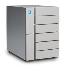 LACIE 24TB 6BIG Enterprise RAID USB 3.1-C & Thunder3 7200RPM w/ Rescue [STFK24000400]