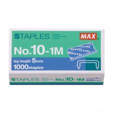 MAX Staples No. 10-1M